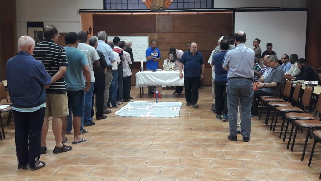 Los verbitas viven su primer retiro anual en el centro-sur del país