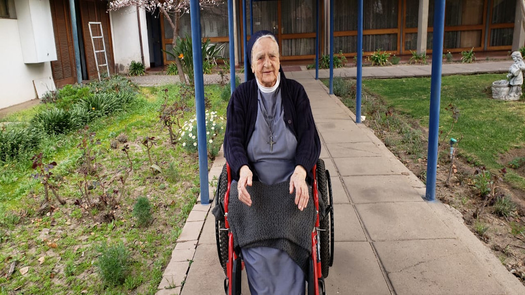 Falleció la hermana Agnesildis SSpS, destacada religiosa de la salud