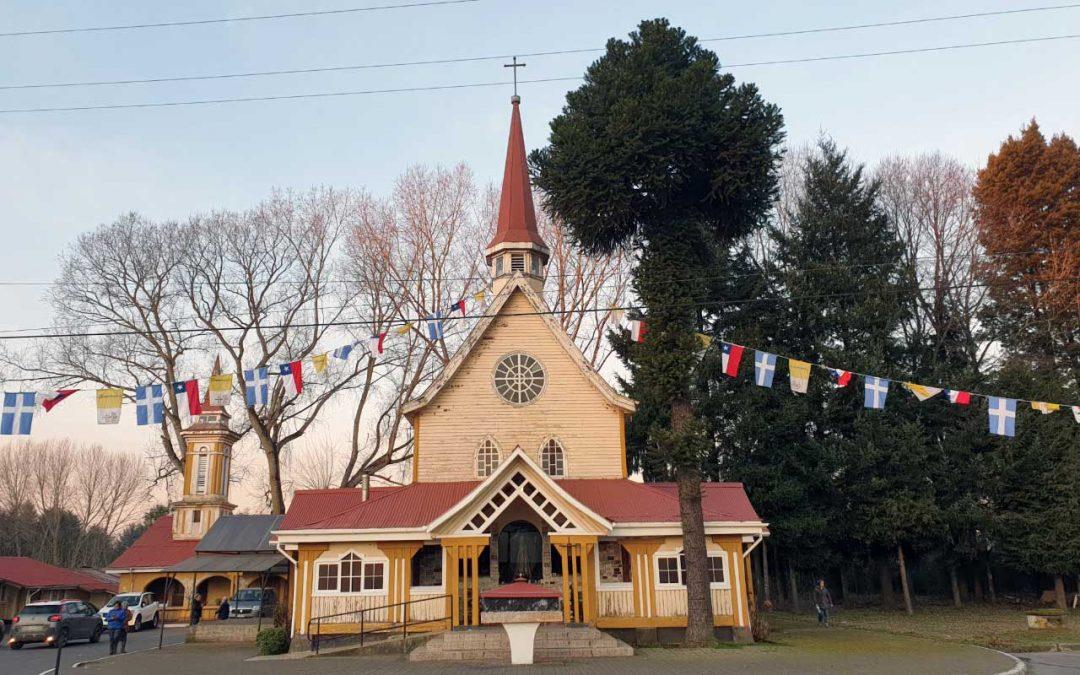 La Asunción de la Virgen María y un emblemático Santuario del sur de Chile