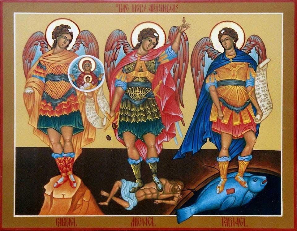 """""""Santos Miguel, Gabriel y Rafael, protejan el reino de Dios en la tierra…"""""""