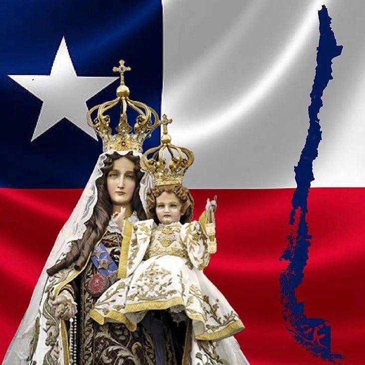 Chile ora hoy por su bienestar y se encomienda a la Virgen del Carmen