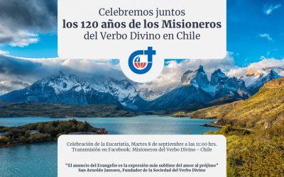 Acción de gracias por los 120 años de nuestra presencia en Chile