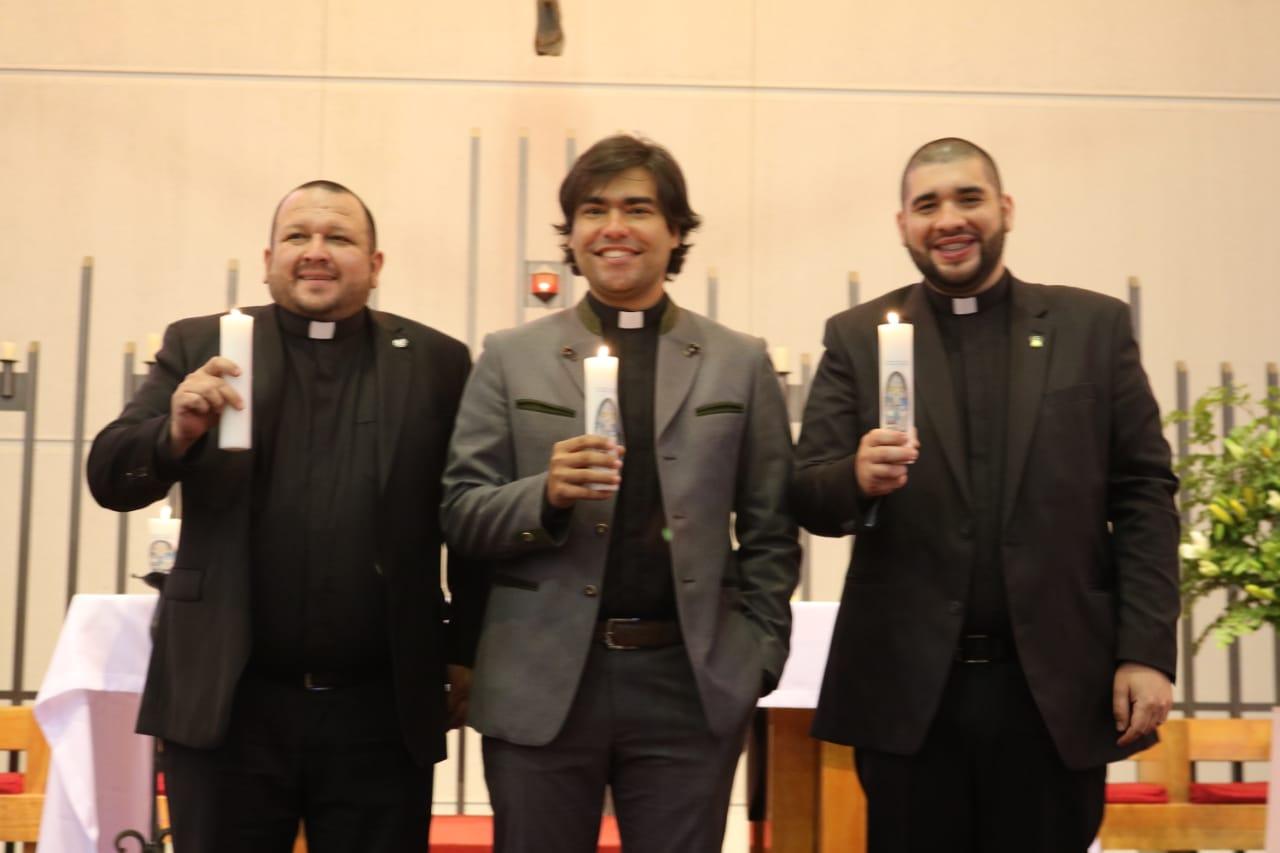 Carlos, Delfor y Felipe consagraron sus vidas a la misión del Verbo Divino