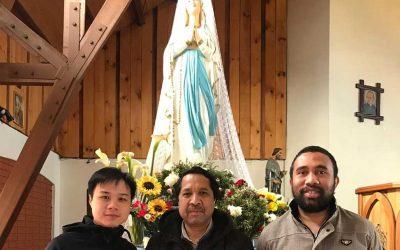 Mes de María misionero: la comunidad verbita de Osorno ora por la Iglesia en África