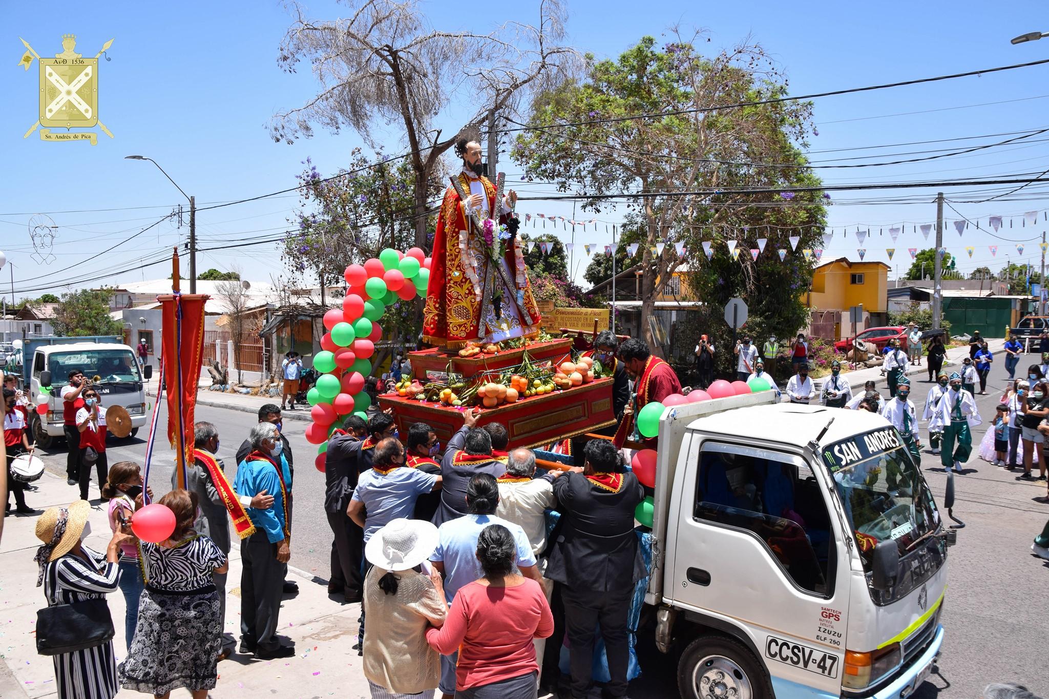 Fiesta de San Andrés en Pica: 400 años de fervor popular en el oasis nortino