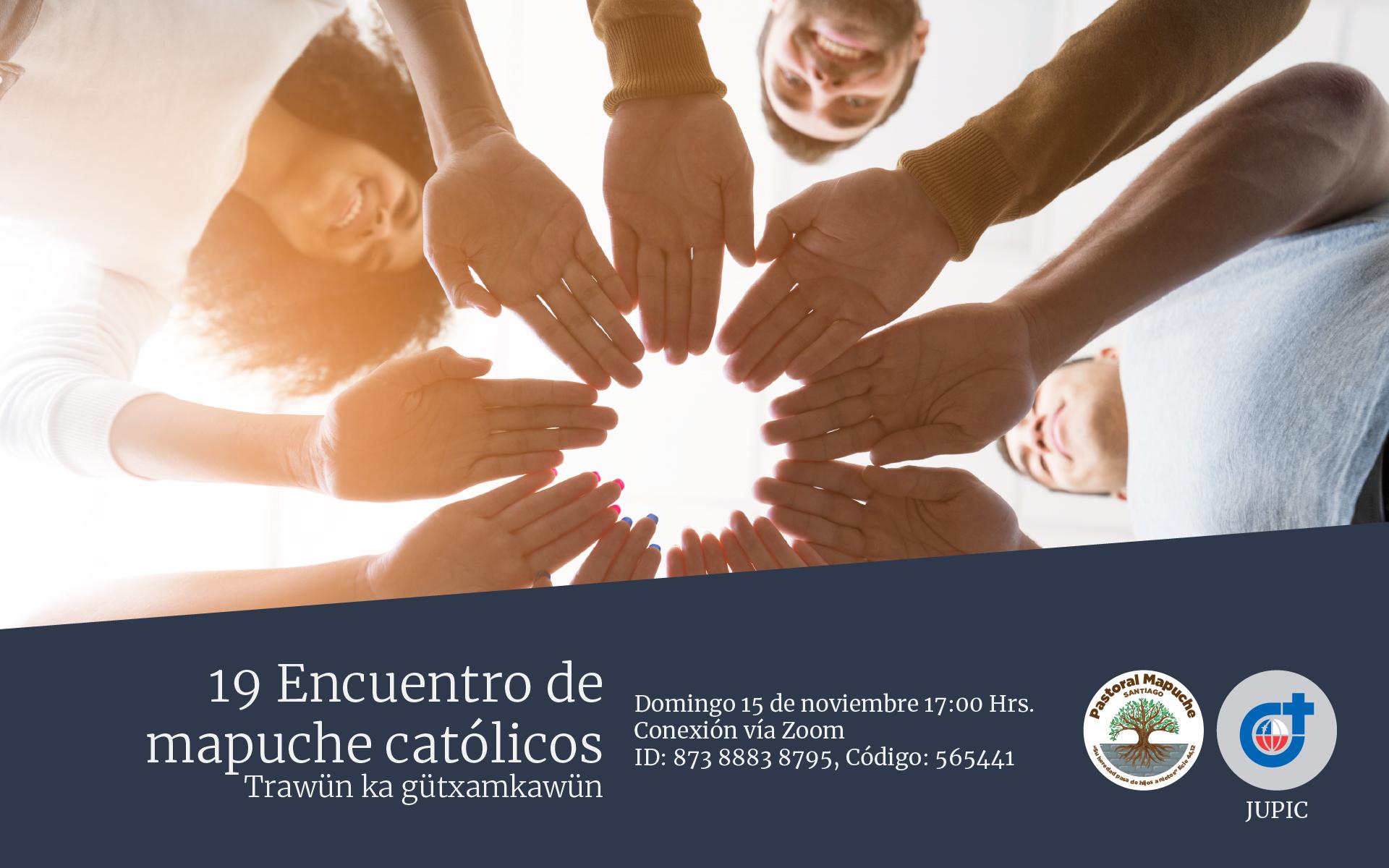 De manera virtual: así será el 19° Encuentro de mapuche católicos