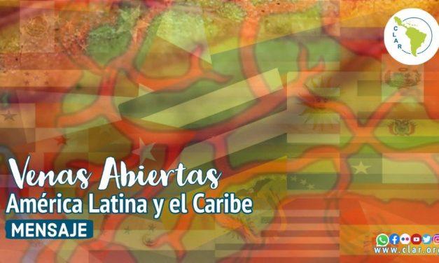 """Mensaje de la CLAR en Adviento: """"Venas abierta de América Latina y el Caribe"""""""