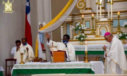 Instalación del nuevo Párroco de la comunidad Cristiana San Andrés de Pica