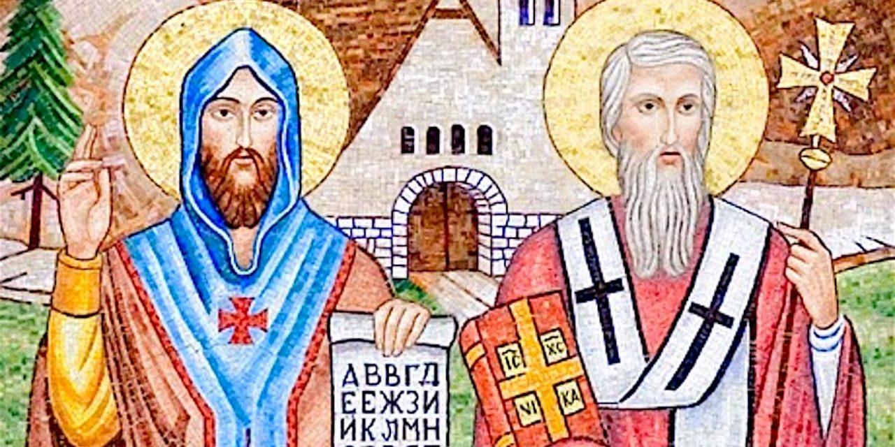 Los santos Cirilo y Metodio, apóstoles de los pueblos eslavos y ejemplos de misioneros