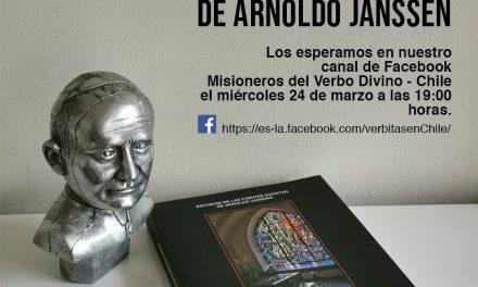 Presentarán el libro Estudio de las fuentes escritas de  Arnoldo Janssen