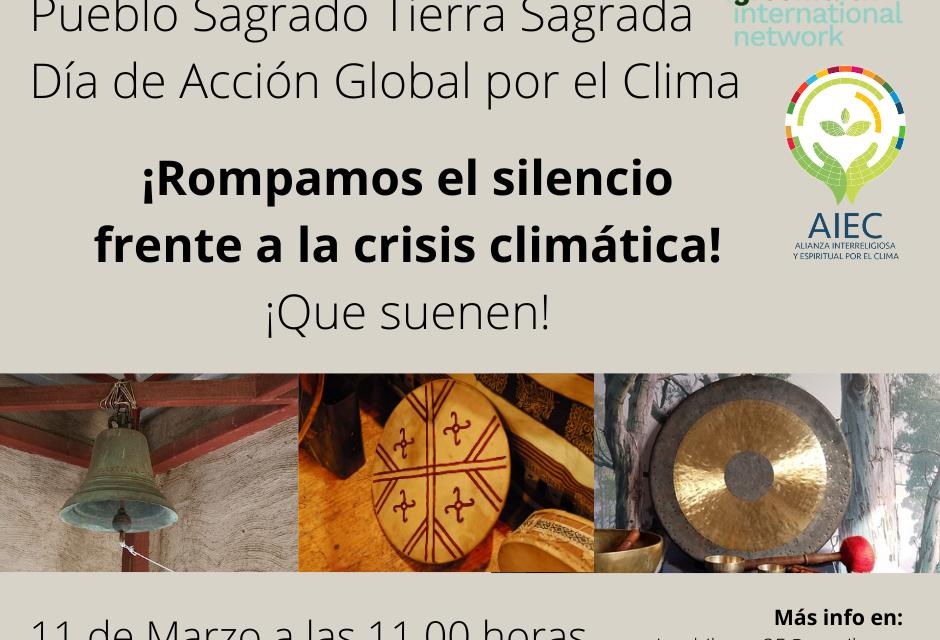 Comunidades de fe hacen sonar sus campanas por el cambio climático