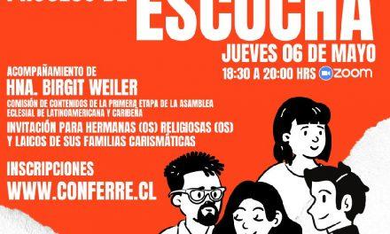 CONFERRE invita a Conversatorio sobre la Asamblea Eclesial de América Latina y El Caribe