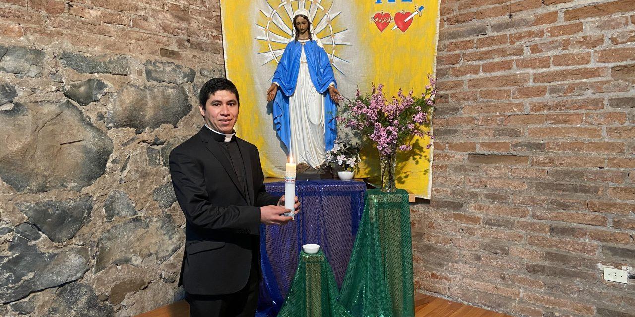 """Andrés Jones SVD: """"Como María, pongo también hoy mi 'Sí'"""""""