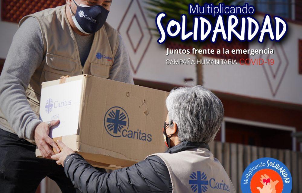 En agosto, Caritas Chile invita a seguir: Multiplicando Solidaridad