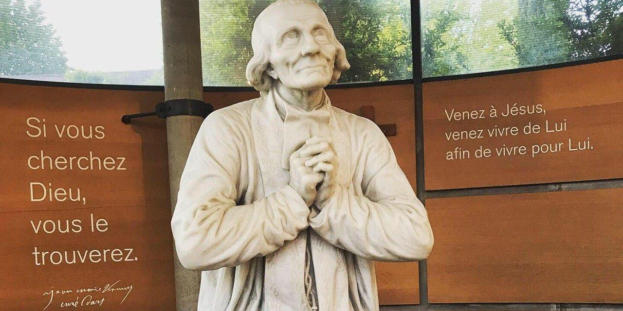 S. Juan M. Vianney, cura de Ars, patrón del clero que cura las almas