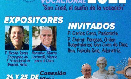 Participa del Primer Congreso en Pastoral Vocacional de la vida consagrada 2021