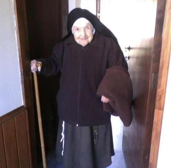 A los 105 años murió la Hna. María Celina, religiosa clarisa de La Florida