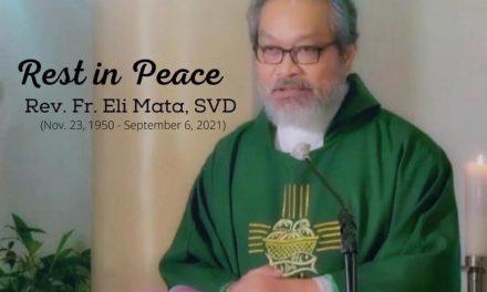 P. Eli Mata SVD (Q.EP.D) y su paso misionero en Chile