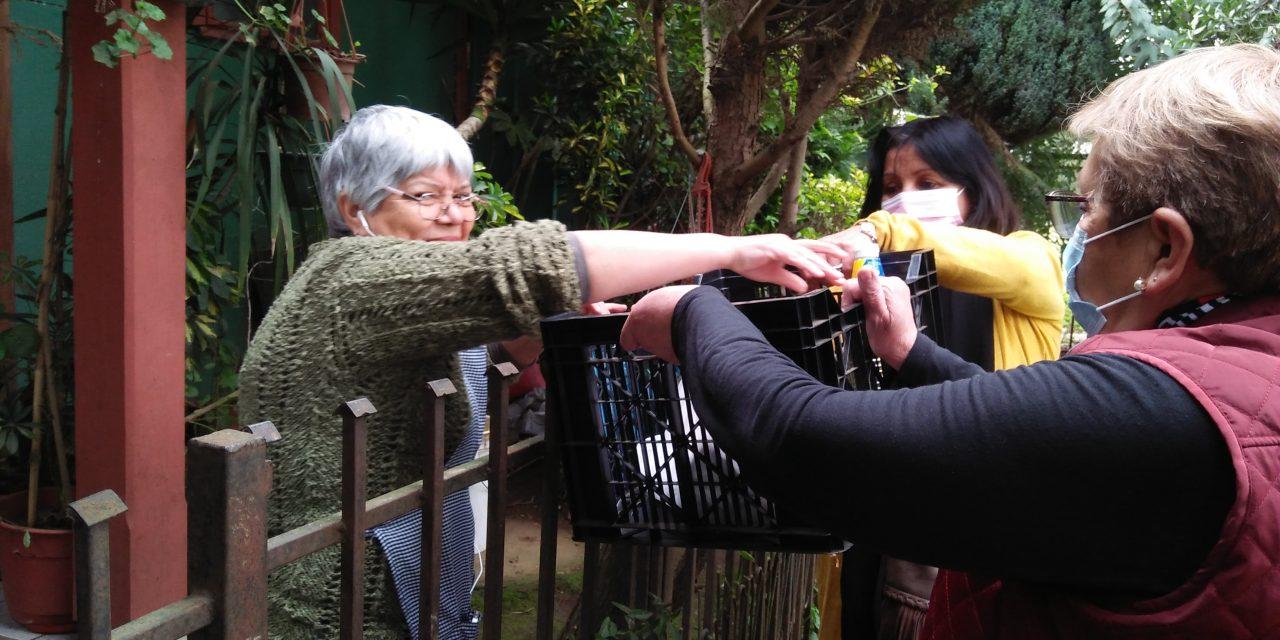 La Pérgola de la Solidaridad de Quepe y el alegre servicio a la comunidad